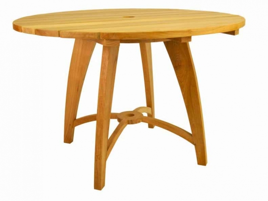 Anderson Teak Teak Inch Florence Round Table TBNF - Anderson round table