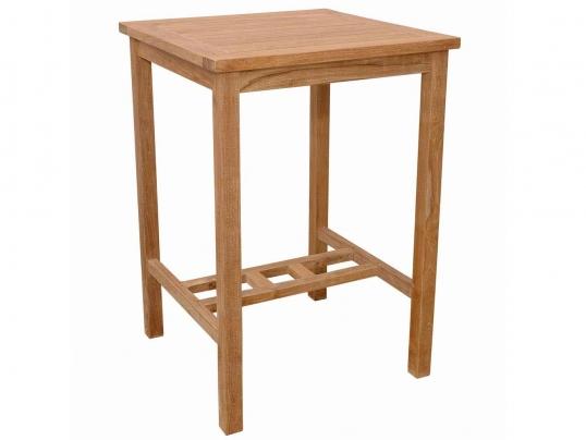Anderson Teak Teak 27 Inch Avalon Square Bar Table Tb S 027bt