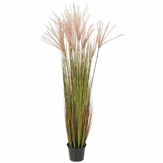 5 Foot Fire Retardant Pvc Reed Plant Potted A 80790