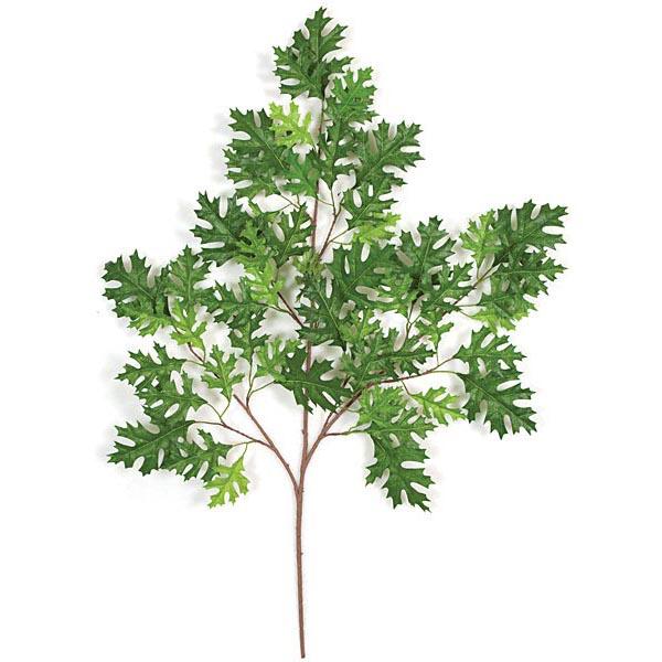 Optimal Green Fire Retardant Pin Oak Branch  Product Photo