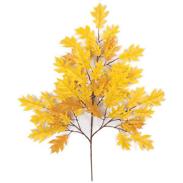 Splendid Gold Fire Retardant Pin Oak Branch  Product Photo