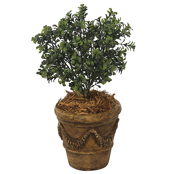 20 Inch Artificial Outdoor Boxwood Bush Unpotted A 040