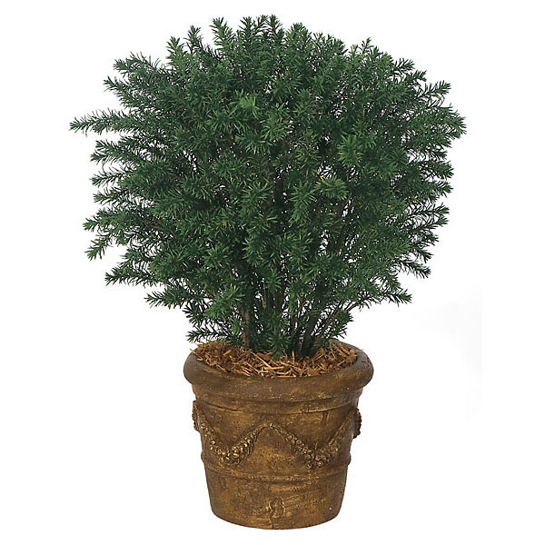 Exquisite Artificial Outdoor Taxus Yew Potted Product Photo