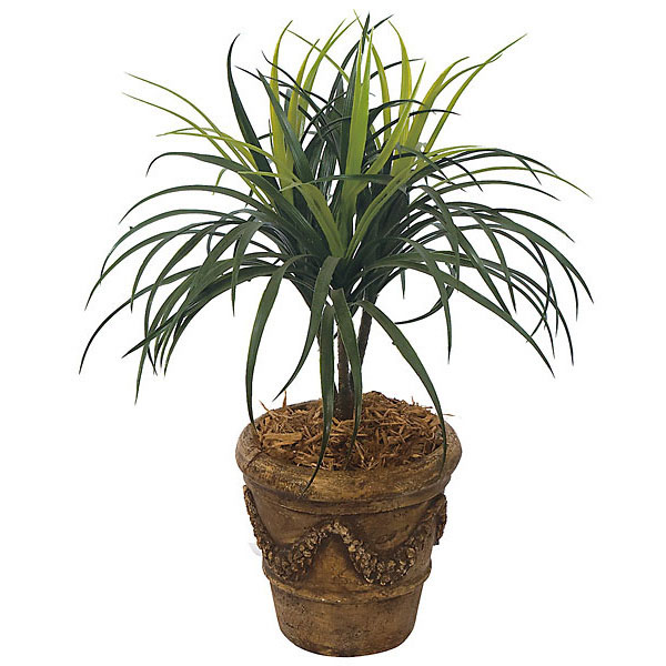 28 Inch Artificial Outdoor Liriope Tree