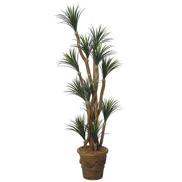 Valuable Artificial Outdoor Liriope Tree Potted 19 2289