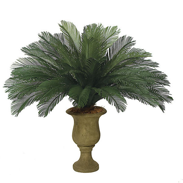 Select Outdoor-Artificial-Cycas-Palm-Cluster-Fronds Product Picture 346