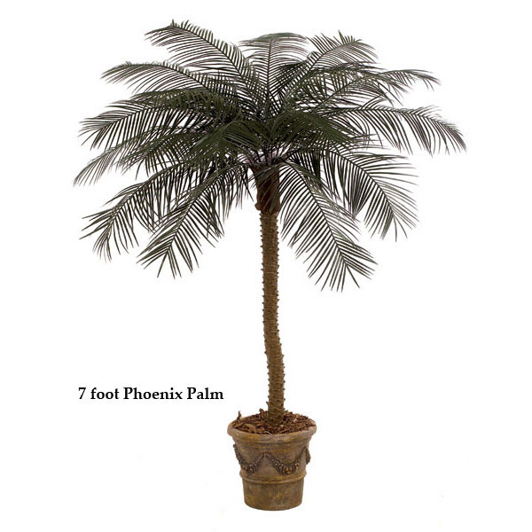 8.5 foot Artificial Outdoor Phoenix Palm with 18 Fronds A-0115