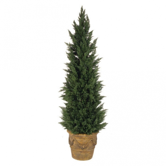7 foot artificial outdoor cypress tree | a-125 Artificial Outdoor Trees