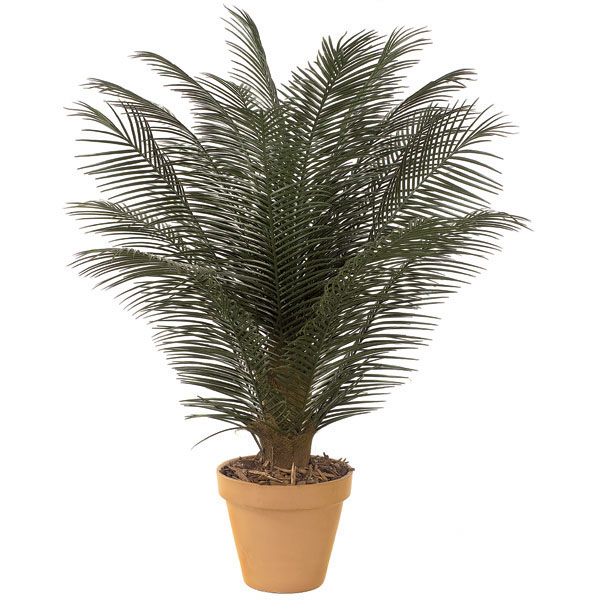 5 foot outdoor artificial phoenix palm cluster with 18 fronds a 2910. Black Bedroom Furniture Sets. Home Design Ideas