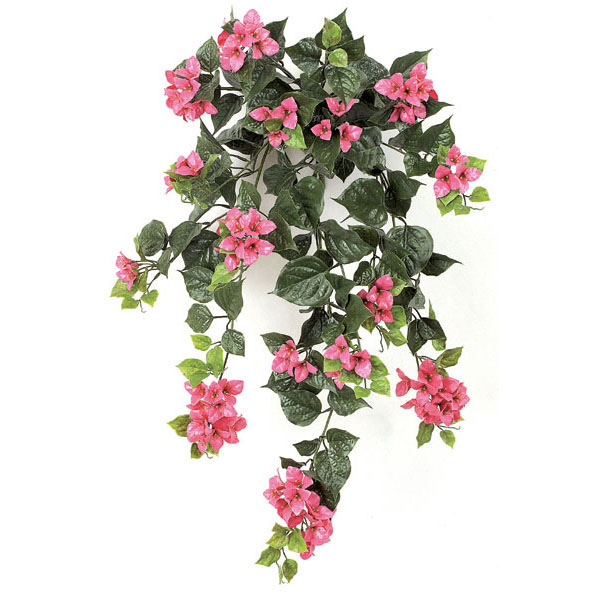 36 inch artificial outdoor fuchsia bougainvillea flowers unpotted closeup image mightylinksfo