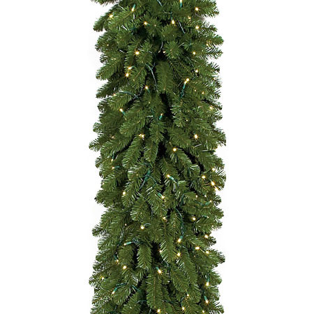 New Pine-Garland-Clear-Lights Product Image 2608