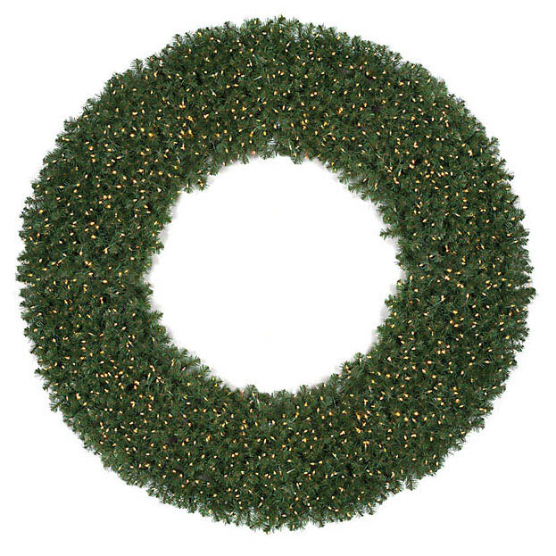 Info about Virginia Pine Wreath Unlit Product Photo