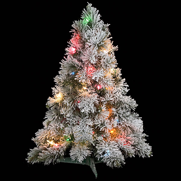 Mini Tree With Lights Part - 40: Closeup Image