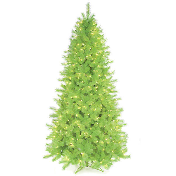 Choose Slim Lime Christmas Tree Clear Mm Leds 1 8