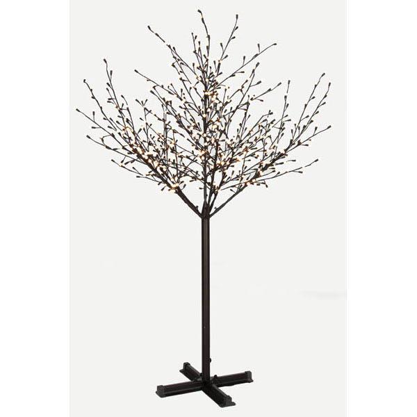 7 foot LED Tree: 600 White G15 LED Lights