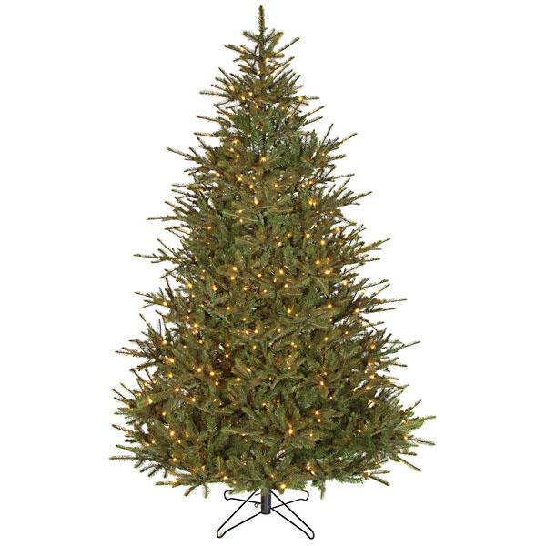9 foot Elizabeth Pine Tree: Warm White LED Lights C-120908