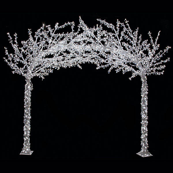 8 25 X 9 5 Foot Acrylic Arch Tree W Shapeable Branches