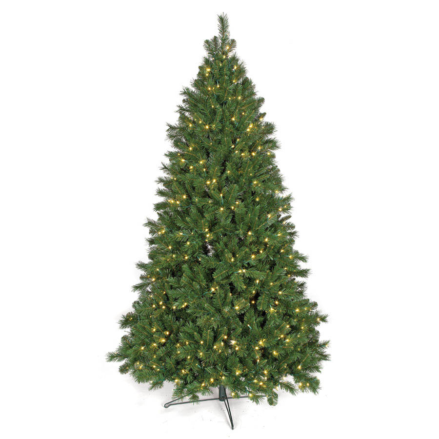 Order Fluff Free Westford Pine Tree Clear Leds Product Photo