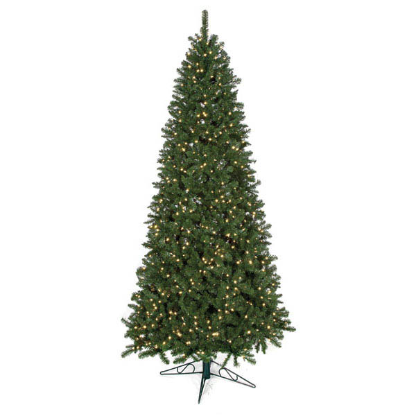 Valuable Fluff Free Slim Monroe Pine Tree Clear Leds 9 2289