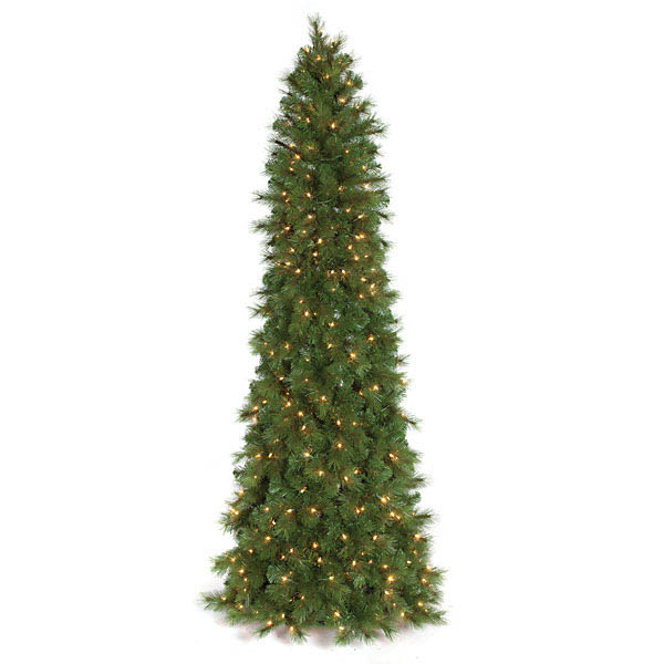 Check out the Mika Pine Pencil Tree Clear Lights Product Photo