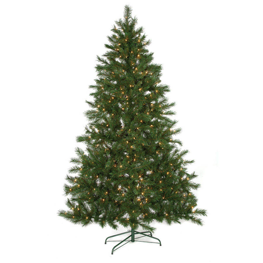 Narrow Artificial Christmas Tree