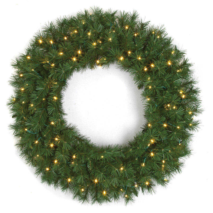 Optimal Westford Pine Wreath Clear Mm Leds Product Photo