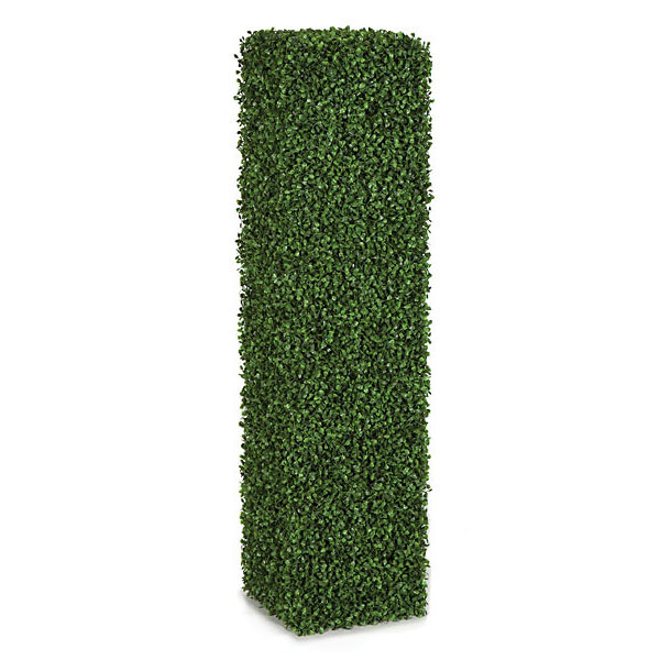 4 foot artificial boxwood column hedge | a-121250