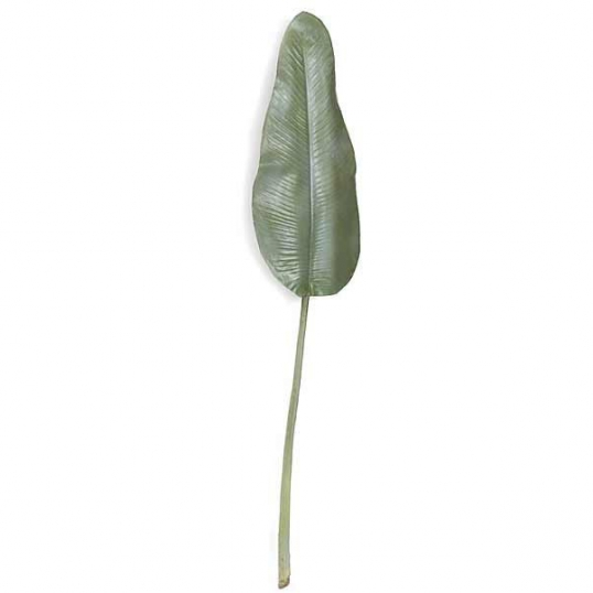 Slim Logo 50 Inch Artificial Weathered Bird Of Paradise Leaf Set 6