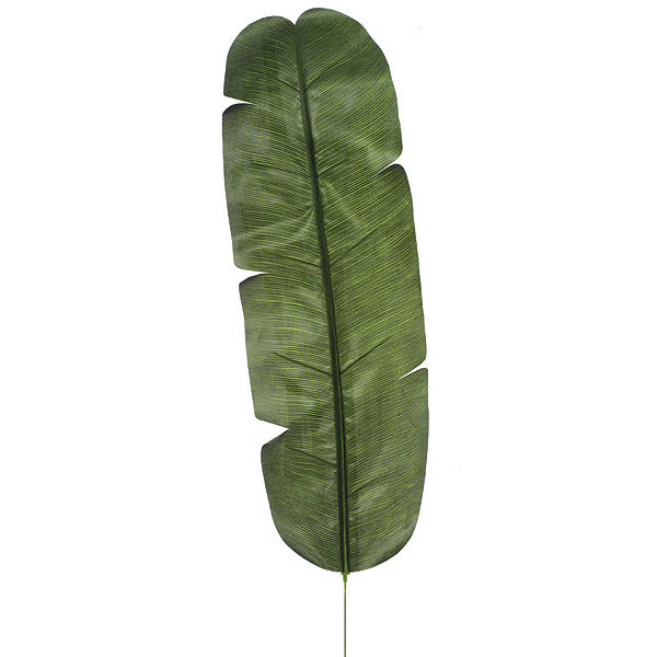 35 Inch Artificial Banana Leaf Set Of 12
