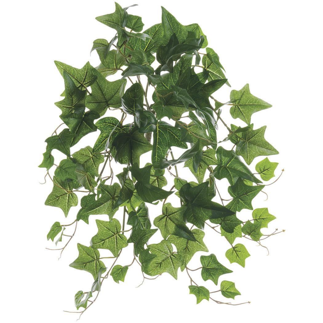 19 Inch Outdoor Green Ivy Bush: Limited Uv