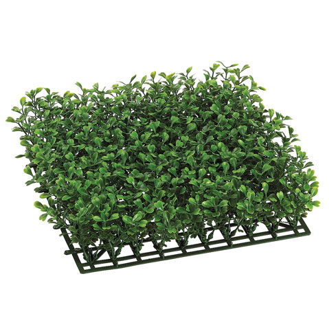 10 X 10 Inch Plastic Boxwood Mat: Not Uv Protected (set Of 6)