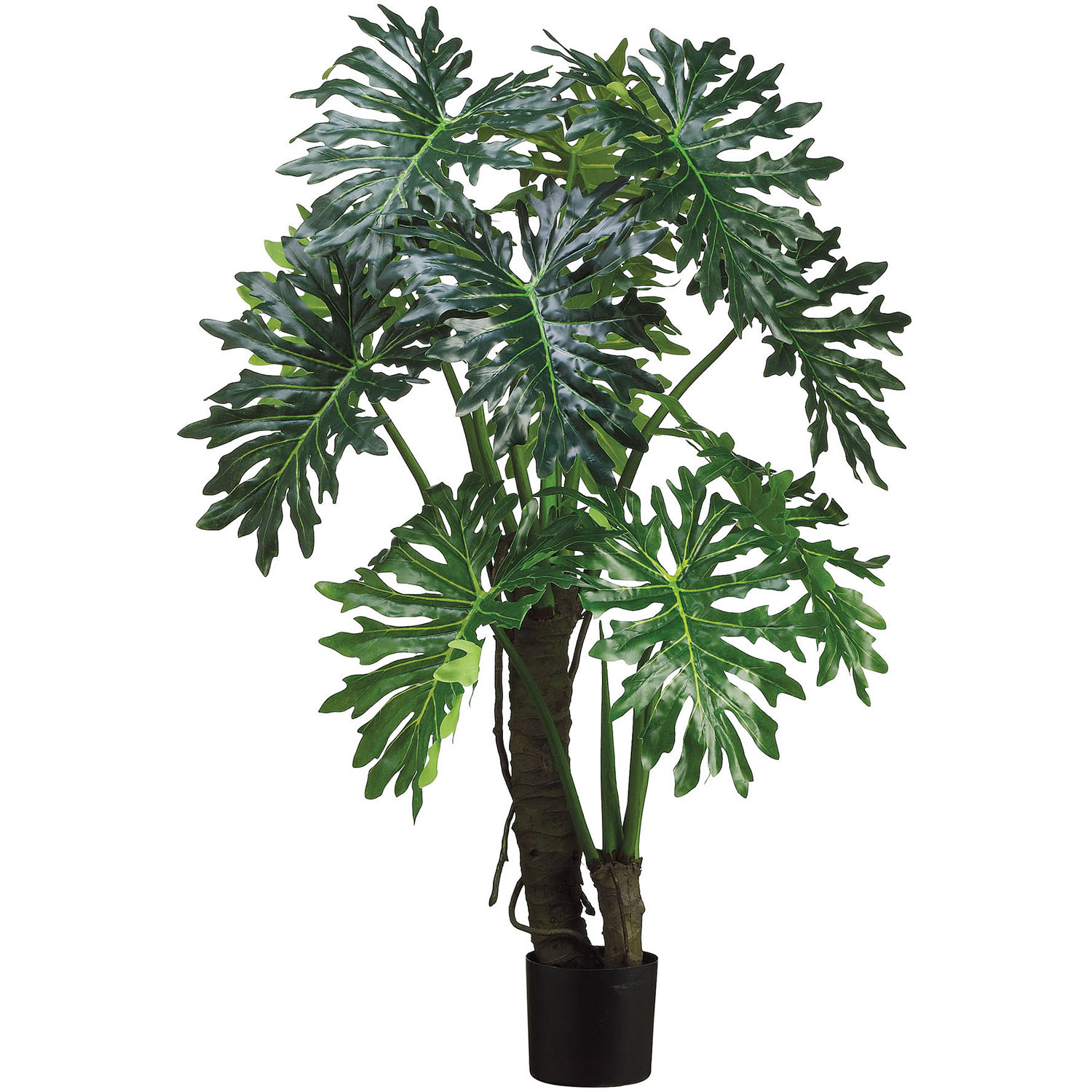 Ultimate Artificial Evae Split Leaf Plant Potted Product Photo