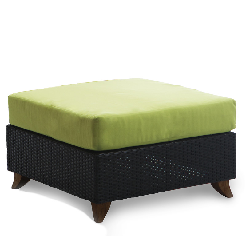 Unique Rattan Deep Seating Ottoman Product Photo
