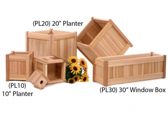 All Things Cedar Cedar 30 Inch Window Box Pl30