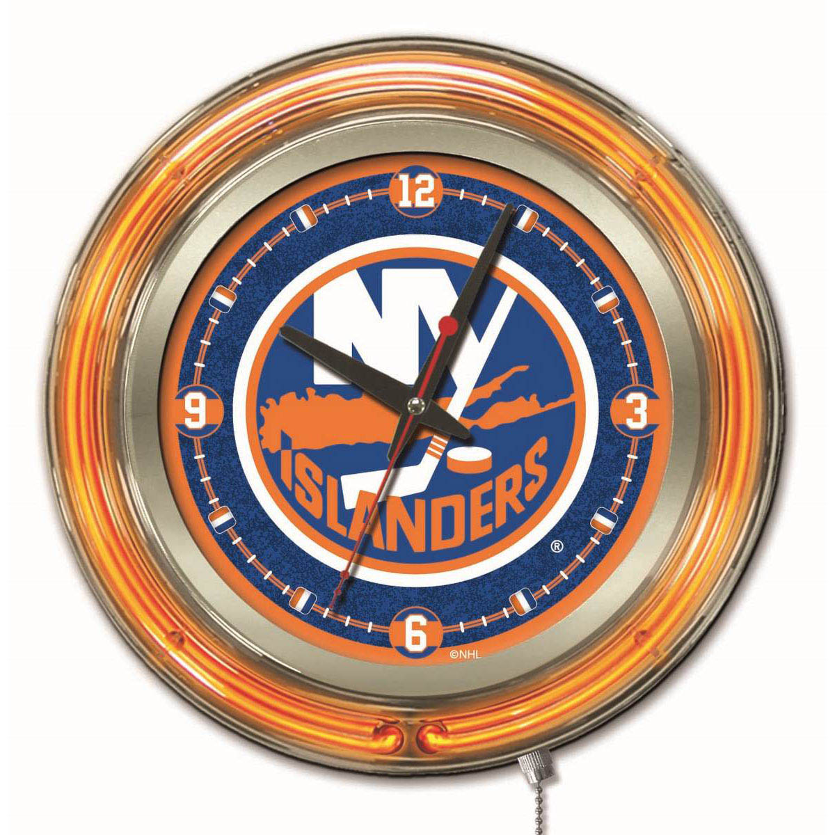 Islander | Clock | Neon | York | New