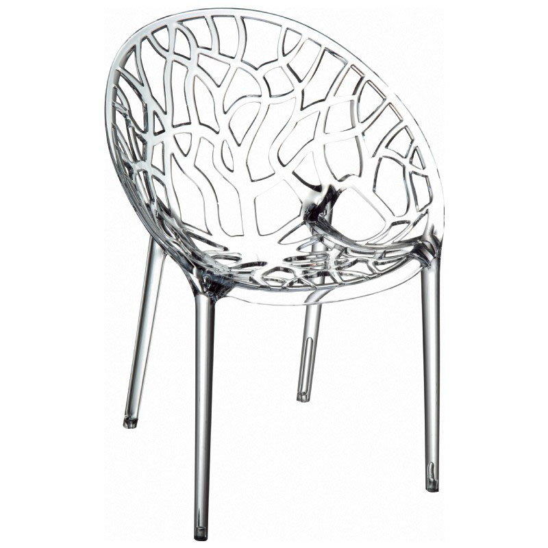 Wonderful Crystal Stackable Dining Armchair  Product Photo