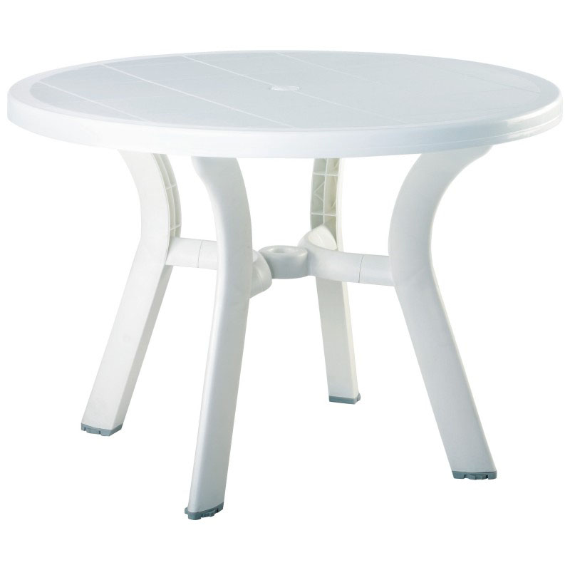 Reliable Truva Resin Round Dining Table Product Photo