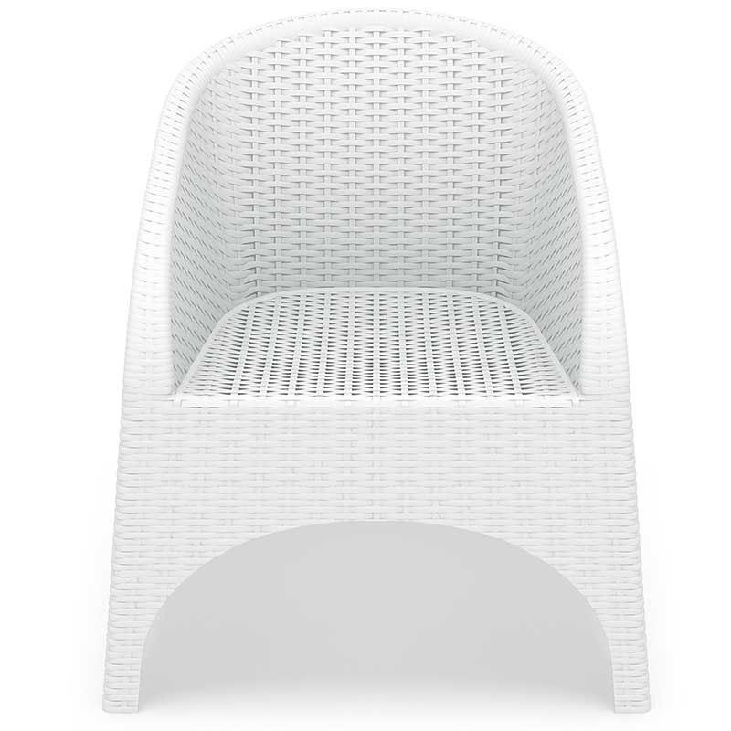 Choose Aruba Stackable Wickerlook Chair  15 2211