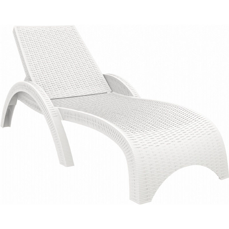 Excellent Wickerlook Stackable Chaise Lounge  Product Photo