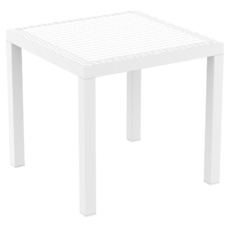 Select Orlando Wickerlook Square Dining Table Product Photo