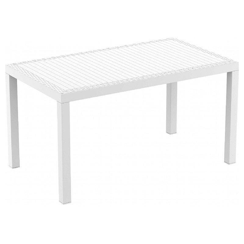 Order Orlando Wickerlook Rectangle Dining Table Product Photo