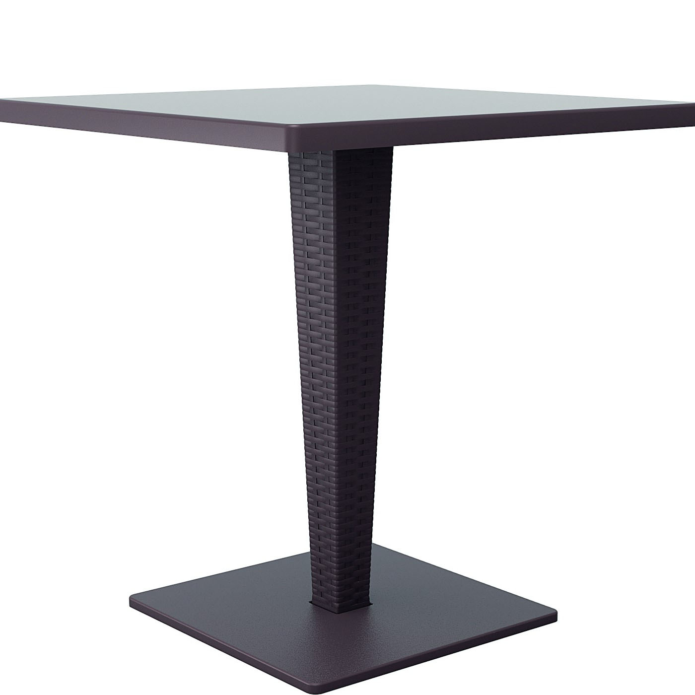 Tasteful Riva Werzalit Top Square Dining Table Product Photo