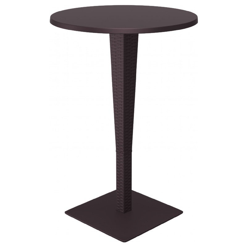 Lovable Riva Werzalit Round Top Bar Height Table Product Photo