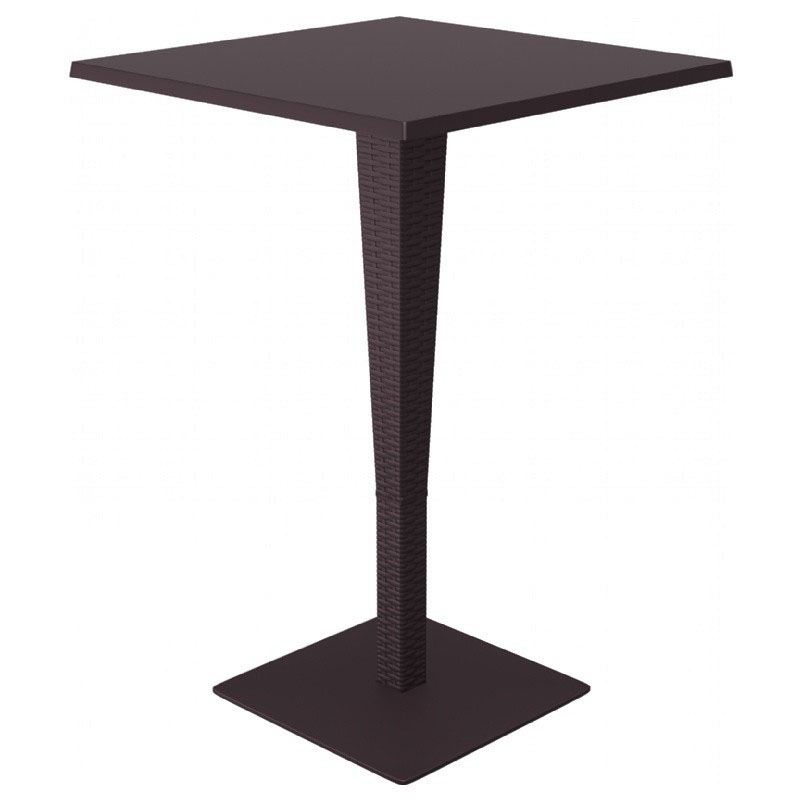 Information about Riva Werzalit Square Bar Height Table Product Photo
