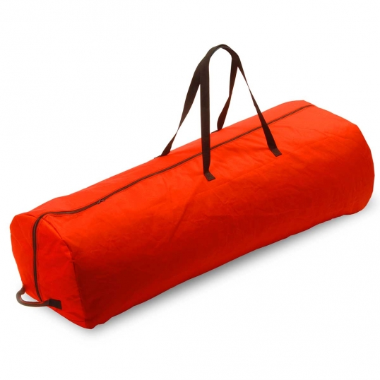 7.5 foot Red Artificial Tree Bag with Wheels