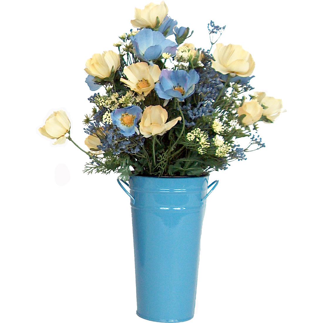 Blue Cosmos in Vase EA-CL06-04