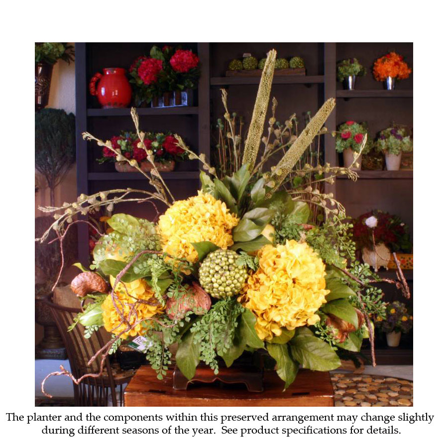Reliable Preserved Gold Arrangement Natural Accents Product Photo