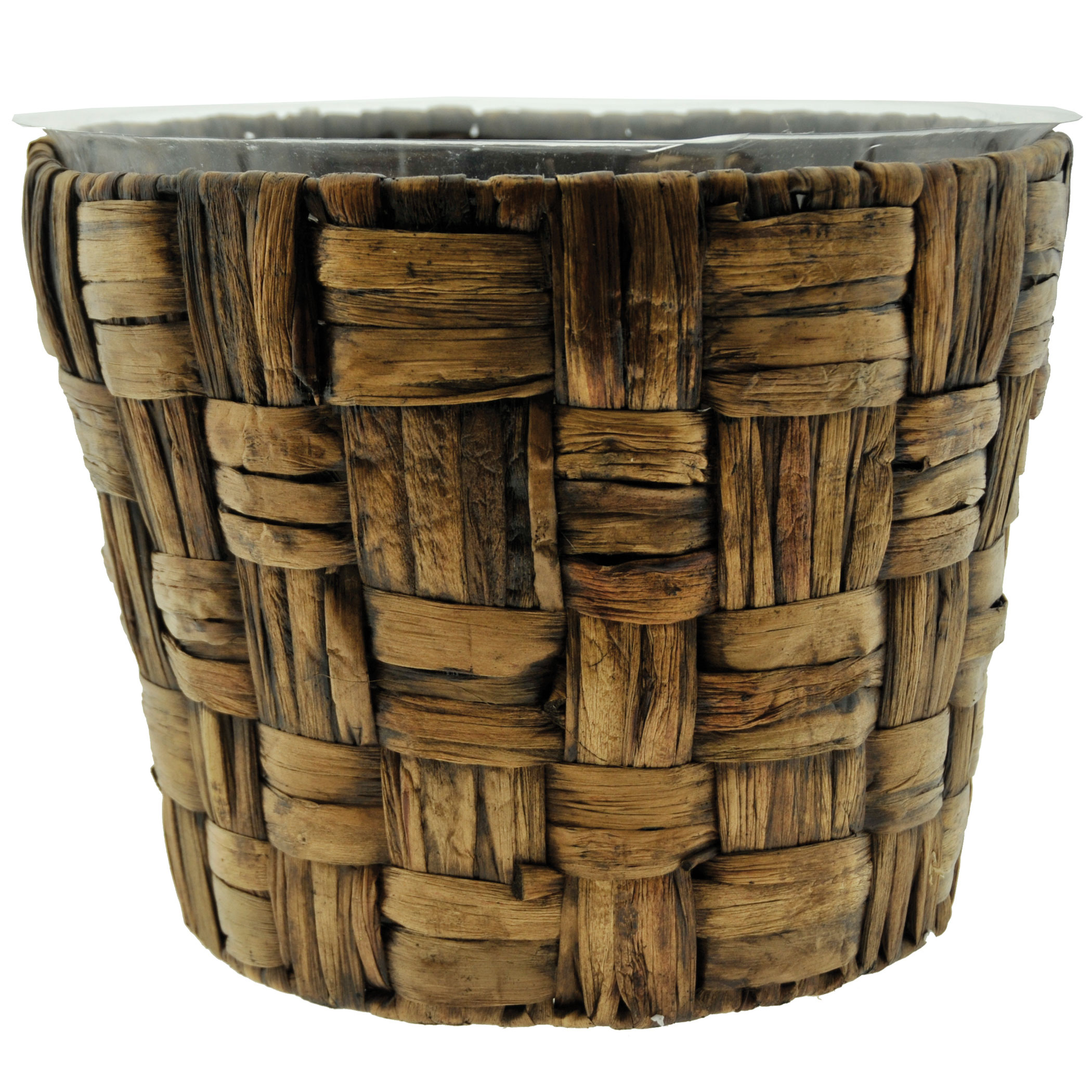 13 Inch Woven Banana Leaf Basket Fits 12 Inch Pots 22010