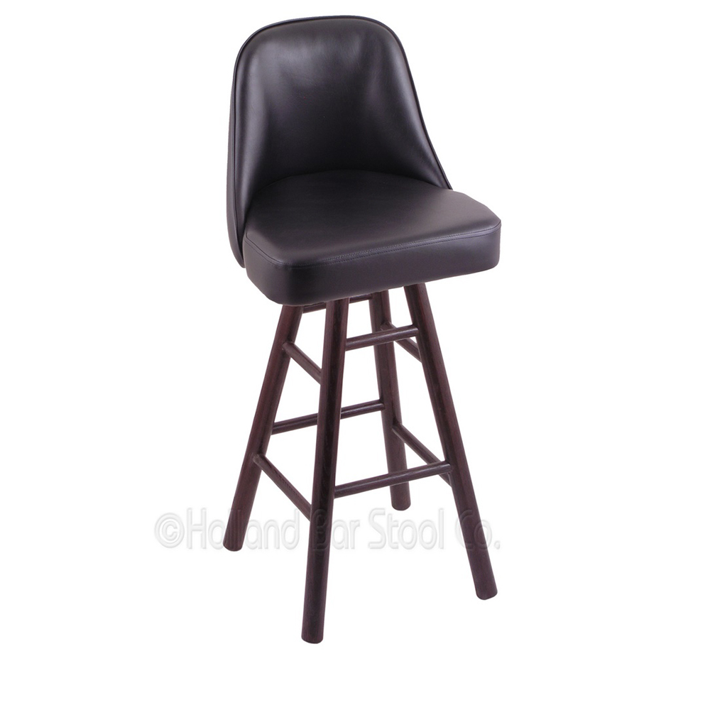 Design Oak Swivel Counter Stool Grizzly Seat Product Photo