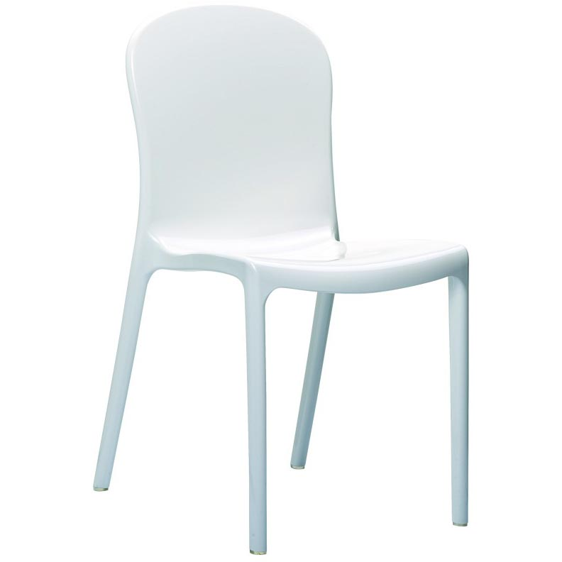Special Victoria Polycarbonate Modern Dining Chair  12 2690